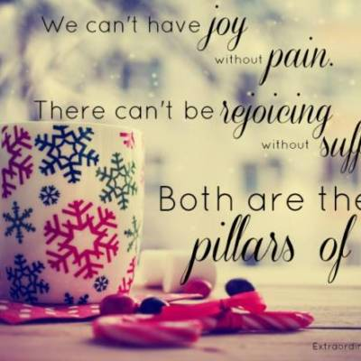 The Necessity of Joy and Pain: A Dichotomy of Opposites