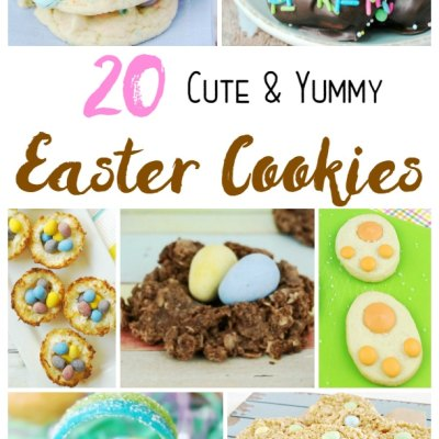 20 Cute and Yummy Easter Cookies