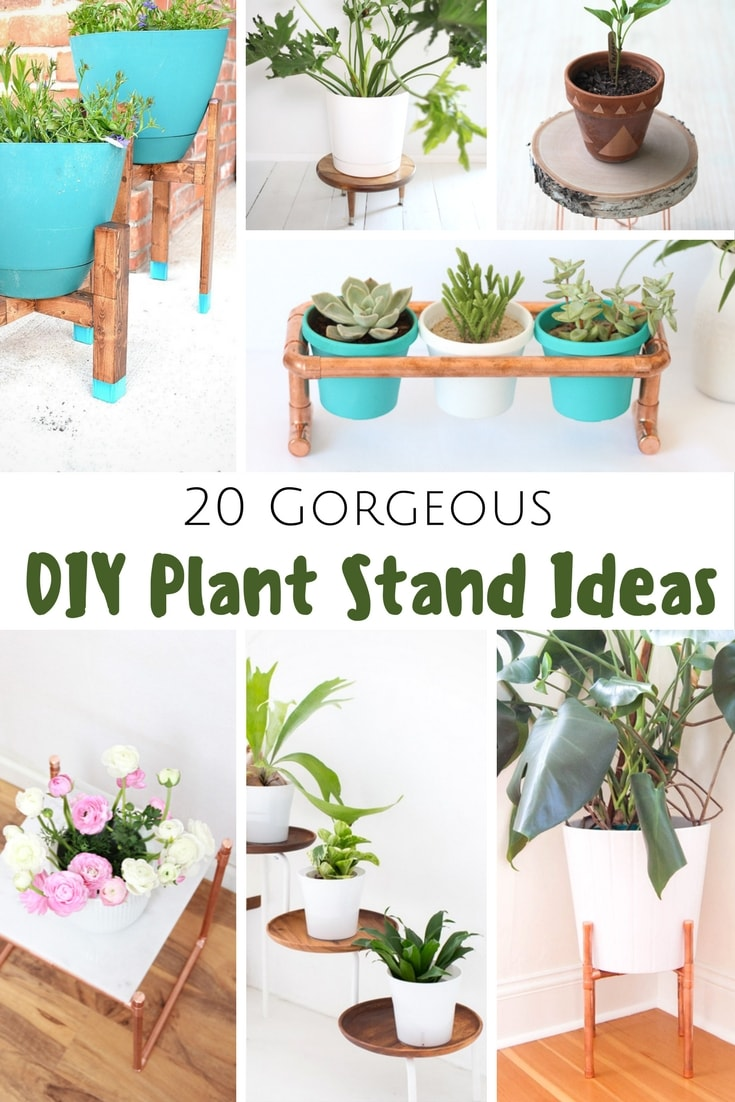 20 Gorgeous DIY Plant Stand Ideas - Pretty Extraordinary on Plant Stand Ideas  id=62508