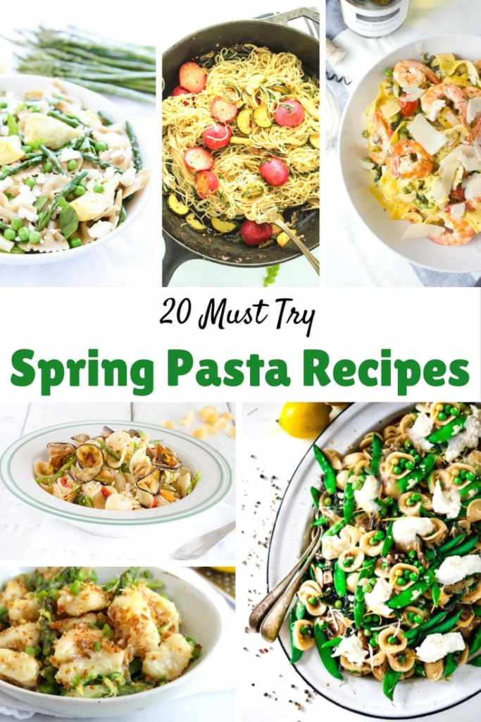 20 Must-Try Spring Pasta Recipes