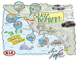 Hitting the Pause Button: Luxury Travel in Santa Barbara #KiaSBExp