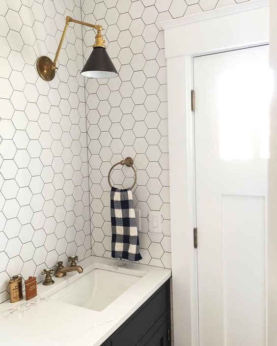 Bathroom with Gingham Towel.jpg