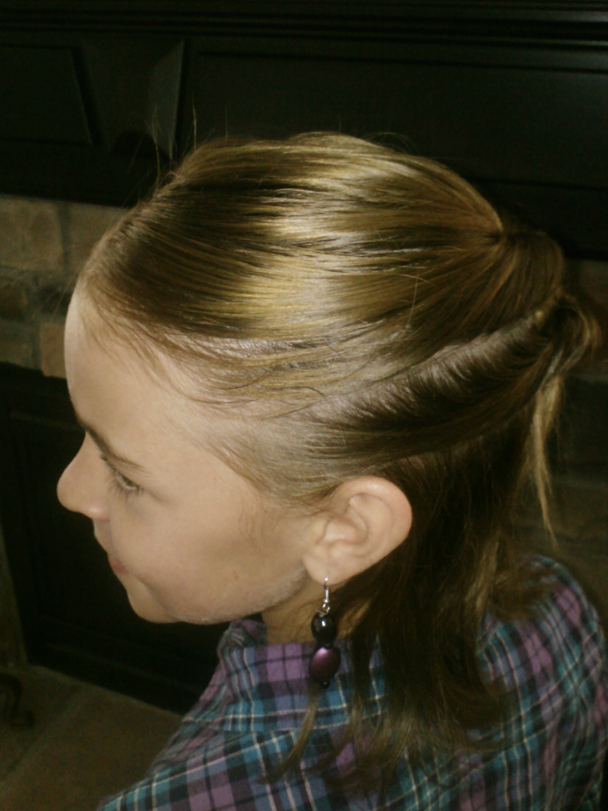 Little Girls Hairstyles How To Do A Pull Through