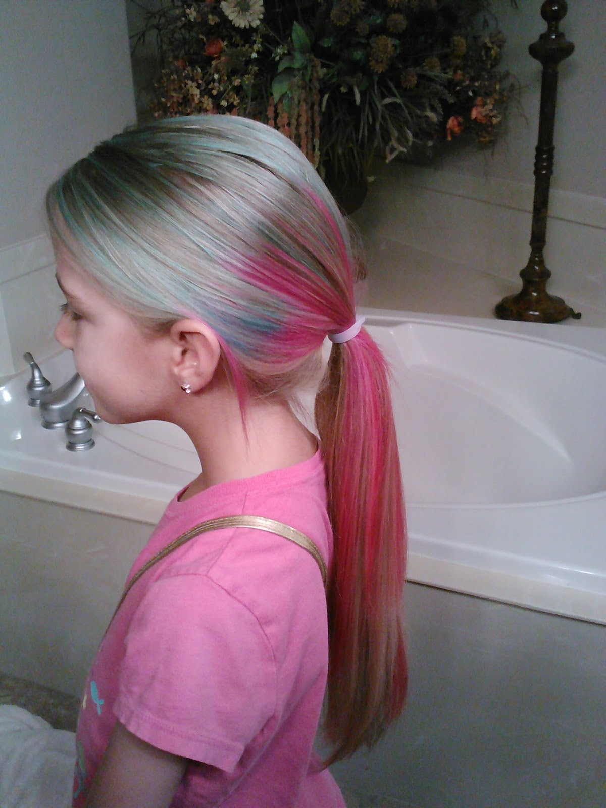Little Girls Hairstyles How To Dye Multi Colored Hair