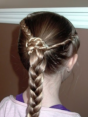 Little Girls Hairstyles The Braid And Twist Hairstyle