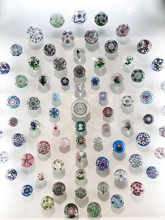 beautiful paper weight collection