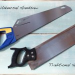 And in this corner we have an Irwin 15″ Universal Handsaw…