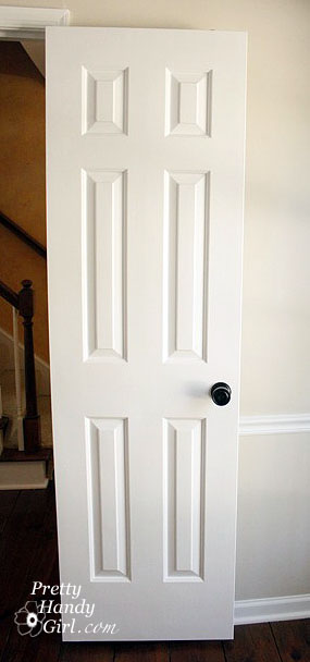 How to Paint Doors like a Professional | Pretty Handy Girl : paint door - pezcame.com