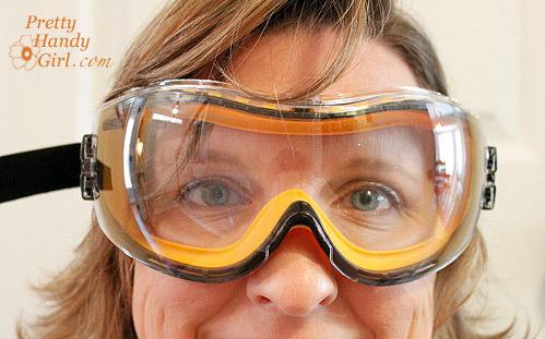 door problem safety glasses
