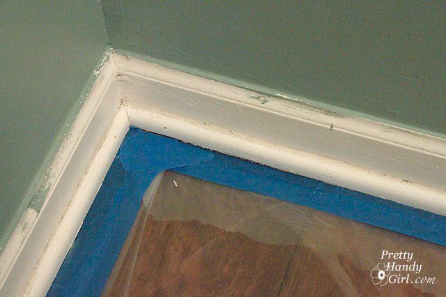 painting molding