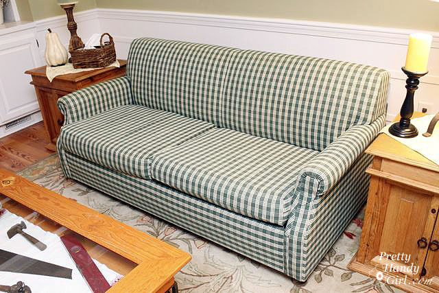 Slipcover a Couch Beautifully