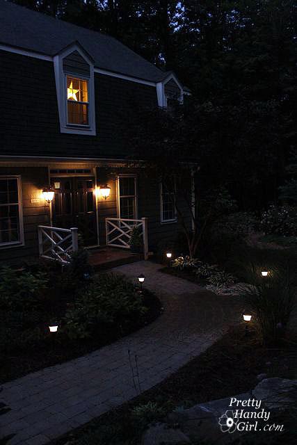 install low voltage landscape lights
