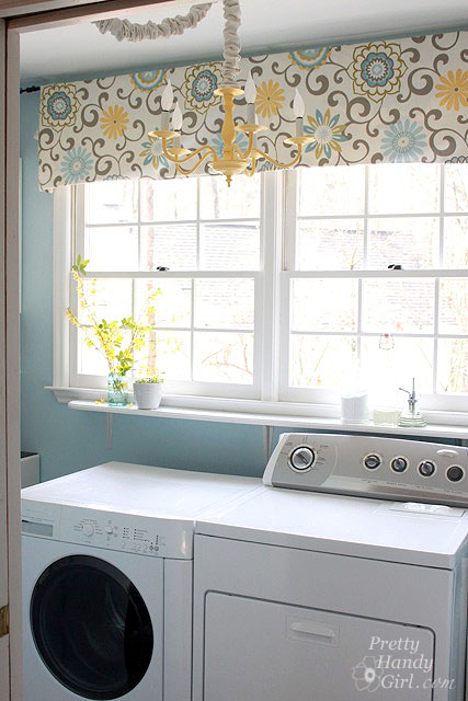 laundry room reveal using flow wall pretty handy girl on laundry room wall covering ideas id=77749