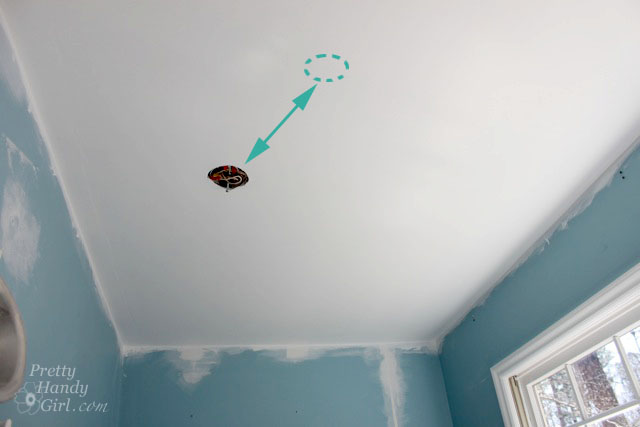 How to swag a light fixture pretty handy girl how to swag a light fixture aloadofball Choice Image