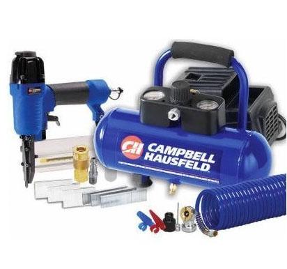 Campbell Hausfeld Compressor Nailer combo kit