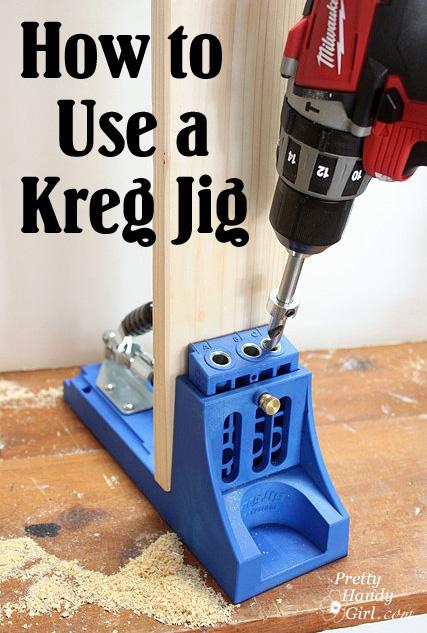 How to Use a Kreg Jig - Pretty Handy Girl