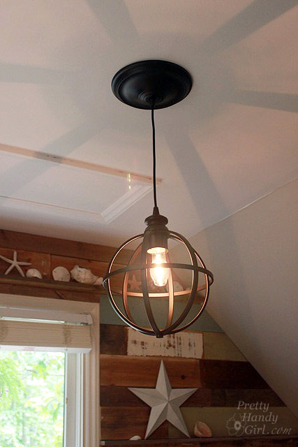 Converting a Recessed Light to a Pendant