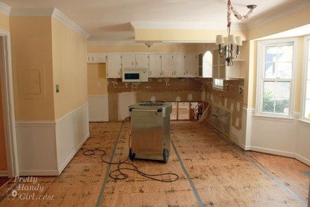 Gutted Kitchen, When I Decided to Renovate My Own Kitchen
