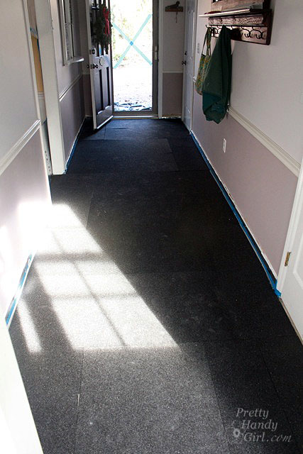 Installing Cork Underlayment For A Radiant Floor Pretty Handy Girl