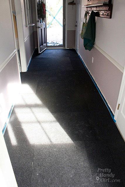 Installing Cork Underlayment for a Radiant Floor - Pretty