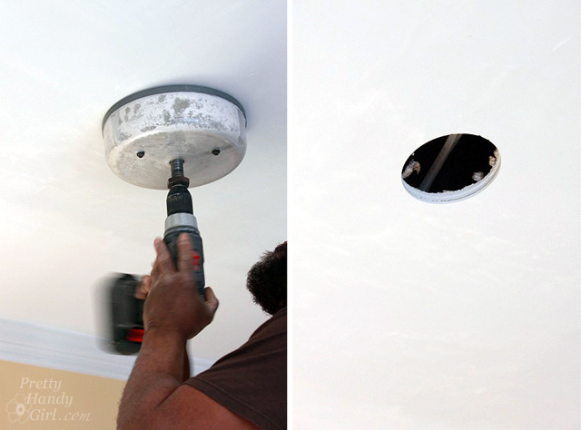 How to Install Recessed Lights - Pretty Handy Girl