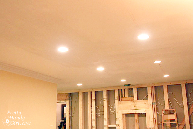 how to install recessed lights pretty