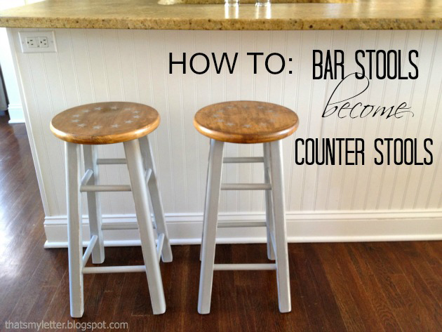 how to cut bar stools down to counter height stools pretty handy girl