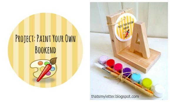 Kids Bookend Kit: Build your own bookend - Pretty Handy Girl