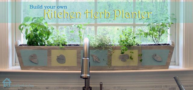 Build Your Own Custom Kitchen Herb Planter Pretty Handy Girl