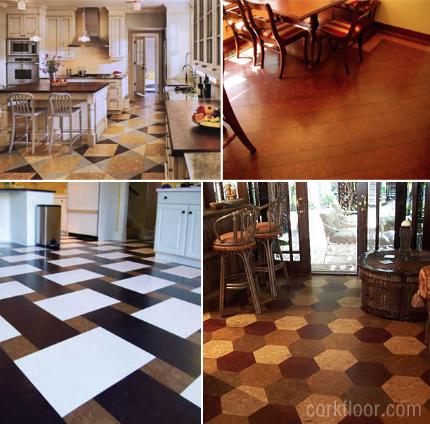 Kitchen Floors {How I Decided To Use Cork Tiles}