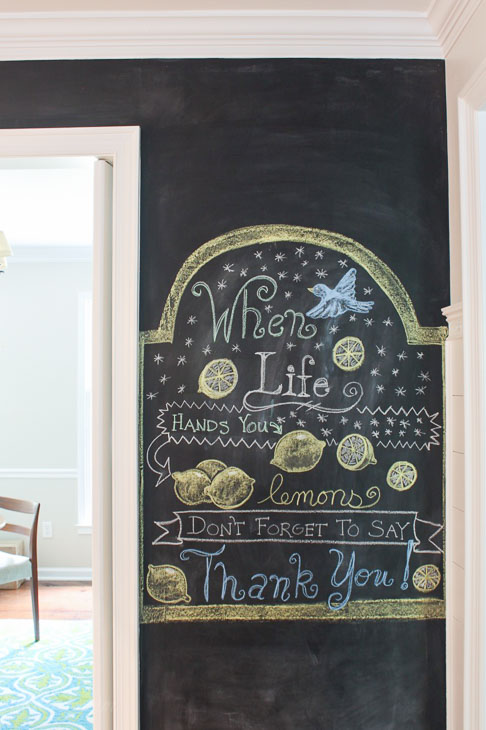 How To Make A Smooth Chalkboard Wall For Imperfect Walls