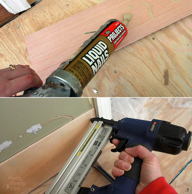 glue_and_nail_first_plank