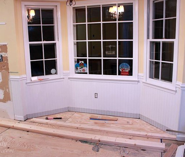 Instructions Remove Any Baseboard Molding And Window