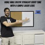 Hang Wall Decor Straight