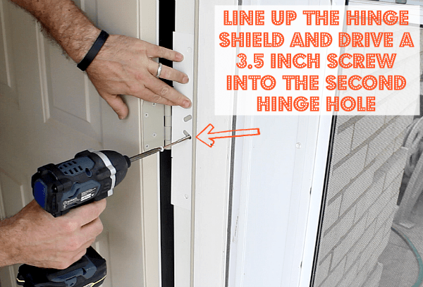 Hinge Shield Install