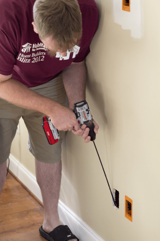 In-Wall Cable Installation