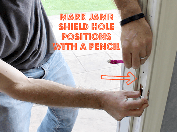 Mark Jamb Shield Holes