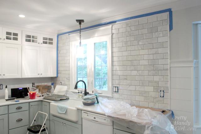 How To Tile A Backsplash Part 1 Tile Setting Pretty