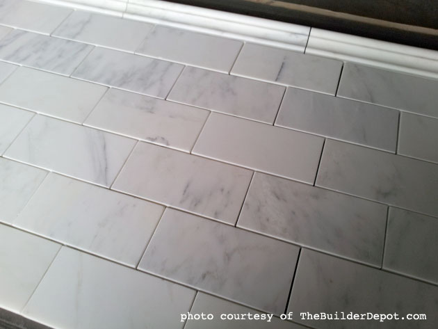 Venato Marble Subway Tiles from TheBuilderDepot.com