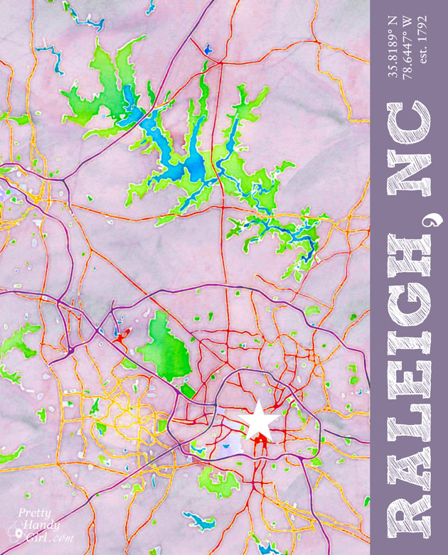 raleigh_nc_graphic_map