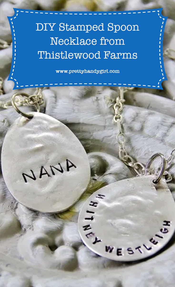 DIY Stamped Necklace | Pretty Handy Girl
