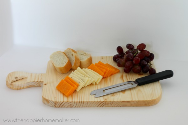 diy cutting board tutorial by pretty handy girl