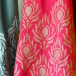 Decorating Like Royalty Stenciled Scarves Tutorial