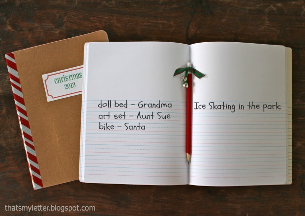 Christmas journal 3