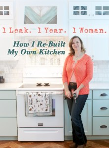 How I Re-Built My Own Kitchen (after a leak) | Pretty Handy Girl
