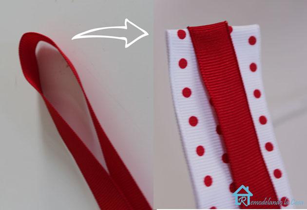 folded ribbon