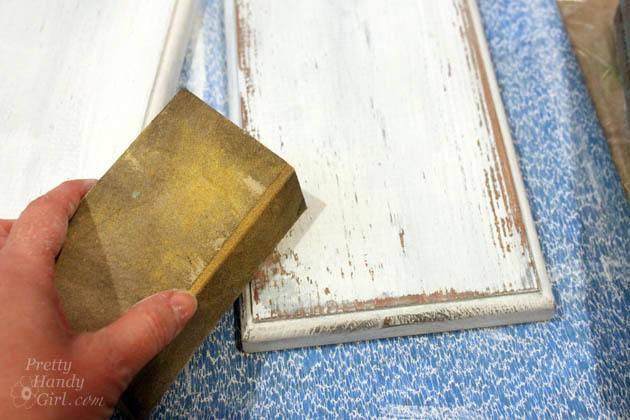 DIY Aged Chippy Paint Technique | Pretty Handy Girl