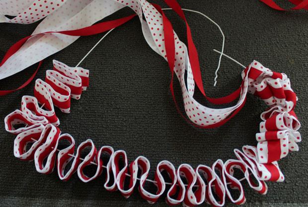 zig zaging ribbon -wire