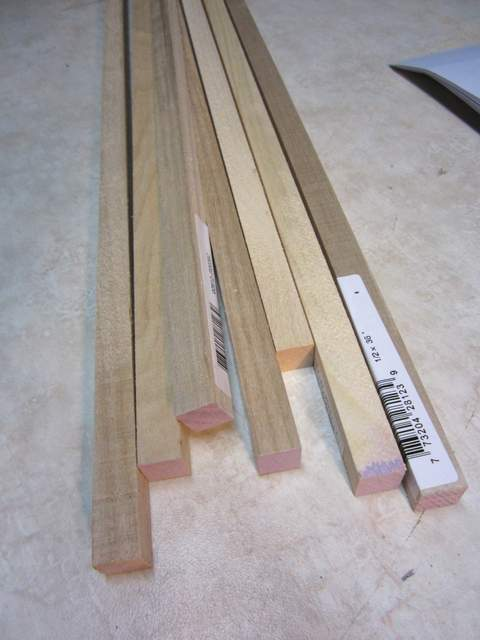 Square Dowels