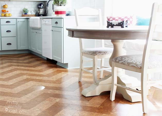 Our Cork Floors - Update Report - Pretty Handy Girl